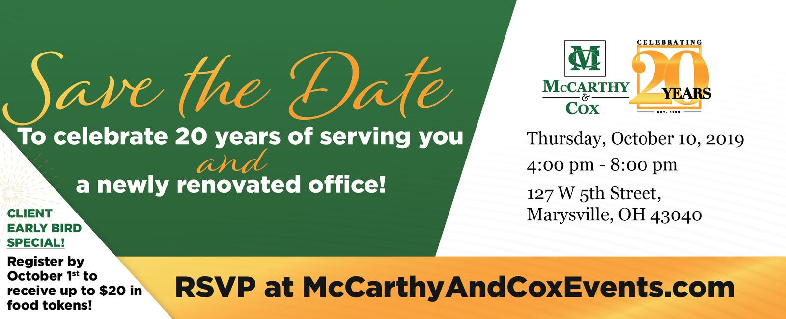 McCarthy & Cox - Home
