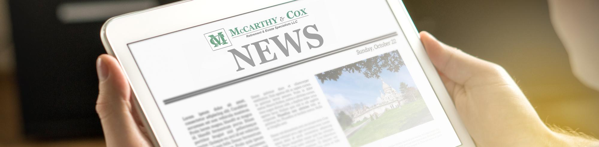 McCarthy and Cox News