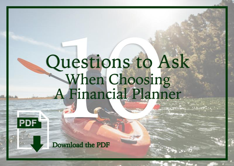 financial planner questions